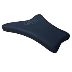 SEAT 4-RACING SHAPED NEOPRENE THICKNESS 30 mm BLACK FOR TRIUMPH FIBERGLASS TAIL