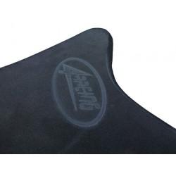 SEAT 4-RACING SHAPED NEOPRENE THICKNESS 30 mm BLACK FOR TRIUMPH FIBERGLASS TAIL