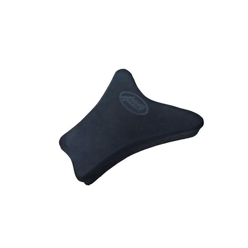 SEAT 4-RACING SHAPED NEOPRENE THICKNESS 50 mm BLACK FOR TRIUMPH FIBERGLASS TAIL