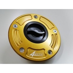 ERGAL TANK CAP WITH 4-RACING QUICK COUPLING FOR HONDA (all models EXCEPT CBR 1000 RR FROM 2012 ONLY)
