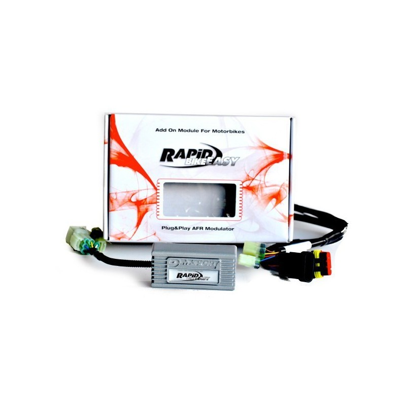 RAPID BIKE EASY 2 CONTROL UNIT WITH WIRING FOR HONDA HORNET 900 (CB 900 F) 2002/2007
