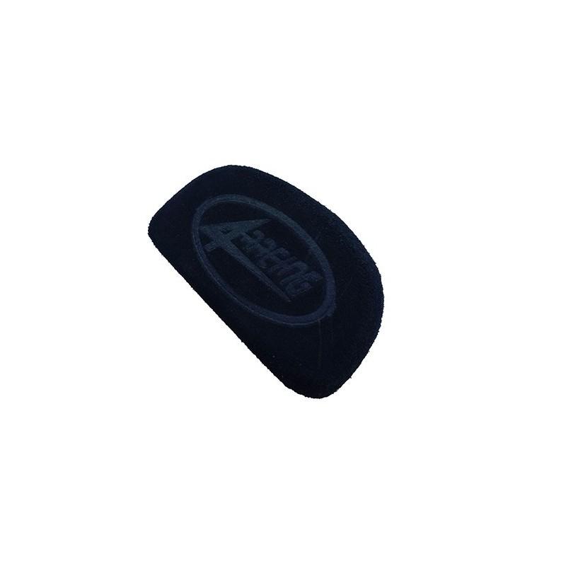 4-RACING SHAPED NEOPRENE BUMPER THICKNESS 50 mm BLACK FOR FIBERGLASS TAIL APRILIA