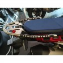 PAIR OF 3D STICKERS PASSENGER HANDLES PROTECTION FOR HONDA AFRICA TWIN