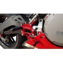 4-RACING ADJUSTABLE REAR SETS FOR DUCATI 899 PANIGALE 2013/2015