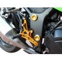 4-RACING ADJUSTABLE REAR SETS FOR YAMAHA FZ6 S2 2007/2013, FZ6 S2 FAZER 2007/2013 (standard and reverse shifting)