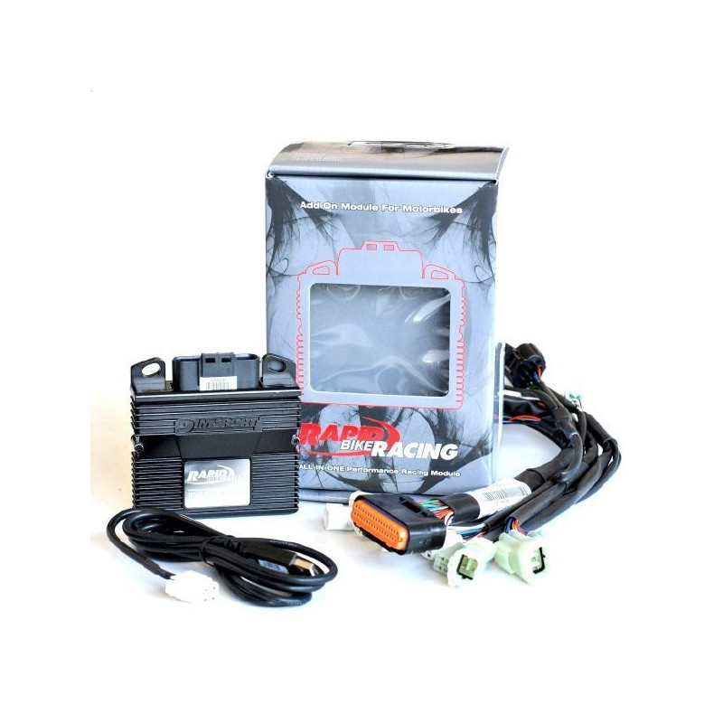 EXCLUSIVE RAPID BIKE RACING CONTROL UNIT WITH WIRING FOR KAWASAKI VERSYS 650 2015/2016*
