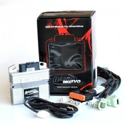 RAPID BIKE EVO EXCLUSIVE CONTROL UNIT WITH WIRING FOR DUCATI HYPERSTRADA 821 2013/2015