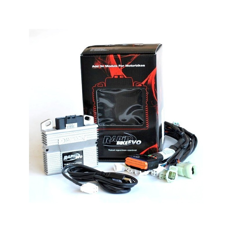 RAPID BIKE EVO EXCLUSIVE CONTROL UNIT WITH WIRING FOR KAWASAKI ER-6N 2012/2016