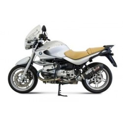 CARBON OVAL MIVV EXHAUST TERMINAL FOR BMW R 1150 R, APPROVED