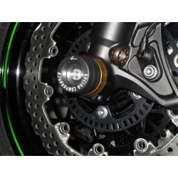 COPPIA TAMPONI PROTEZIONE FORCELLA 4-RACING SERIE COLOR PER TRIUMPH SPEED TRIPLE 1050 2011/2015