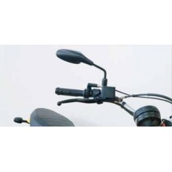 PAIR OF FAR UNIVERSAL REAR-VIEW MIRRORS FOR NAKED MOTORCYCLES