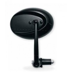 PAIR OF FAR UNIVERSAL MIRRORS WITH HANDLEBAR CLAMP, BLACK COLOR