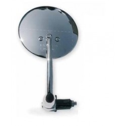 PAIR OF FAR UNIVERSAL MIRRORS WITH HANDLEBAR ATTACHMENT, CHROME COLOR