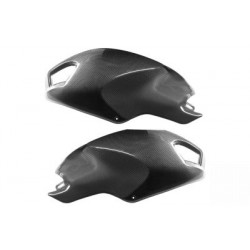 CARBON FIBER TANK SIDE COVERS FOR DUCATI MONSTER 696 2008/2011, MONSTER 796 2010/2013, MONSTER 1100 2009/2013