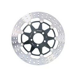 COPPIA DISCHI FRENO ANTERIORI BRAKING TONDI STX29 PER TRIUMPH SPEED TRIPLE 955 1999/2001