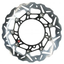 FRONT BRAKING FLOATING BRAKE DISC WK001 FOR MOTO GUZZI BREVA 750