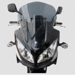 WINDSCREEN FABBRI TOURING FOR SUZUKI V-STROM 650 2004/2011, LIGHT SMOKE