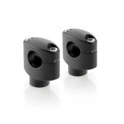 PAIR OF UNIVERSAL RISERS RIZOMA AZ430 FOR HANDLEBARS DIAMETER 25.4 mm, HEIGHT 42 mm