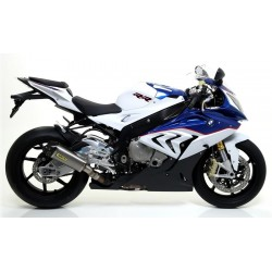 CATALYTIC EXHAUST SYSTEM ARROW CARBON BACK TITANIUM WORKS FOR BMW S 1000 RR 2009/2014