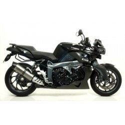 EXHAUST SILENCER ARROW MAXI RACE-TECH IN TITANIUM WITH CATALYTIC FITTING FOR BMW K 1300 R 2009/2015, APPROVED