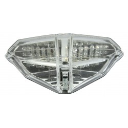 LED TAILLIGHT WITH INTEGRATED DIRECTION INDICATORS FOR DUCATI 1098/S 2007/2008, 1198/S 2009/2010, 848 2008/2010