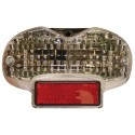 LED TAILLIGHT WITH INTEGRATED DIRECTION INDICATORS FOR SUZUKI BANDIT 600 2000/2004, BANDIT 1200 2001/2005