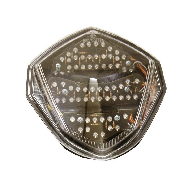 LED TAILLIGHT WITH INTEGRATED TURN SIGNALS FOR SUZUKI GSX-R 1000 2003/2004
