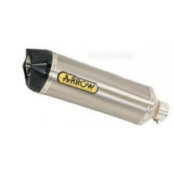 COMPLETE CATALYTIC EXHAUST SYSTEM ARROW TERMINAL RACE-TECH TITANIUM CUP CARBON CUP FOR GILERA GP 800, OMOL