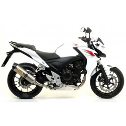 CARBON-ARROW RACE-TECH EXHAUST TERMINAL FOR HONDA CB 500 F 2013/2015, APPROVED