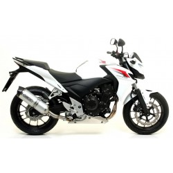 ARROW RACE-TECH ALUMINUM EXHAUST PIPE CARBON BASE FOR HONDA CB 500 F 2013/2015, APPROVED