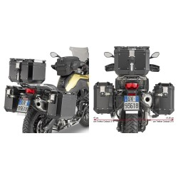 GIVI PL5127CAM FRAME SIDE CASES MONOKEY CAM-SIDE TREKKER OUTBACK FOR BMW F 750 GS 2018/2020