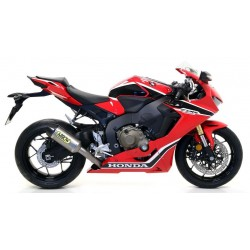 ARROW COMPETITION FULL TITANIUM EXHAUST SYSTEM WITH CARBON END FOR HONDA CBR 1000 RR 2017/2019