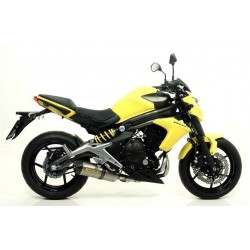 ARROW RACE-TECH CATALYTIC COMPLETE EXHAUST SYSTEM IN TITANIUM CARBON CUP FOR KAWASAKI ER-6N 2012/2016, APPROVED