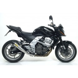 ARROW EXHAUST PIPE IN STAINLESS STEEL CARBON CUP FOR KAWASAKI Z 750 R 2011/2012, APPROVED