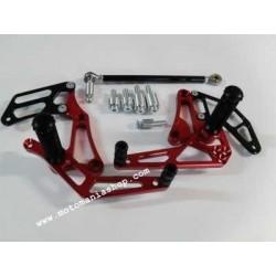 PEDANE ARRETRATE FISSE 4-RACING PER MOTO MORINI CORSARO 1200 (cambio standard e rovesciato)