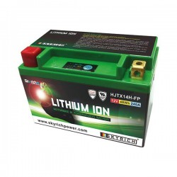 LITHIUM BATTERY SKYRICH HJTX14H FOR KAWASAKI VERSYS 650 2007/2009