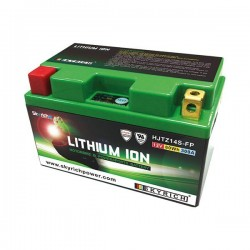 LITHIUM BATTERY SKYRICH HJTZ14S FOR BENELLI TNT TITANIUM 2007/2008