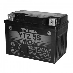 BATTERIA ERMETICA PRECARICATA YUASA YTZ5S PER KTM EXC-F 530 4T 2004