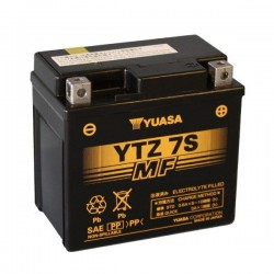 SEALED BATTERY PRELOADED YUASA YTZ7-S FOR KTM EXC 250 2T 2014/2016