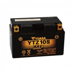 PRE-LOADED SEALED BATTERY YUASA YTZ10-S FOR BMW G 650 XCOUNTRY 2009/2010