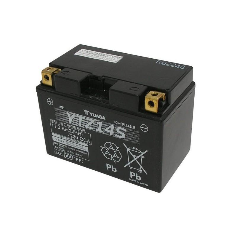 BATTERIA ERMETICA PRECARICATA YUASA YTZ14S PER HONDA X-ADV 750 2017/2018