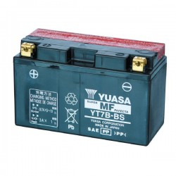 YUASA YT7B-BS BATTERY WITHOUT MAINTENANCE WITH ACID SUPPLIED FOR SUZUKI DRZ 400 AND 2000/2013