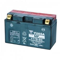 BATTERIA YUASA YT7B-BS SENZA MANUTENZIONE CON ACIDO A CORREDO PER TRIUMPH DAYTONA 675 2009/2012