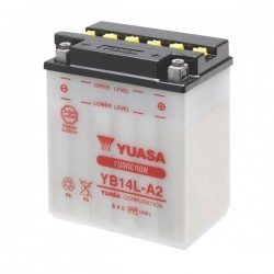 BATTERY YUASA YB14L-A2 FOR TRIUMPH SPEED TRIPLE T509 1997/1998