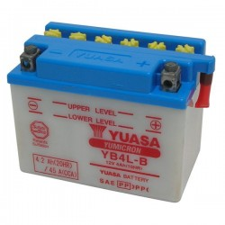 BATTERY YUASA YB4L-B FOR APRILIA RS 250 1998/2002