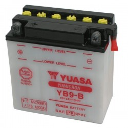 BATTERY YUASA YB9-B FOR APRILIA RS 125 2006/2010