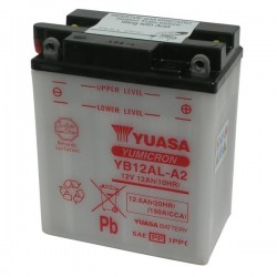 BATTERY YUASA YB12AL-A2 FOR BMW G 650 GS 2011/2015