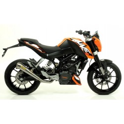EXHAUST PIPE ARROW PRO-RACE STEEL CUP STEEL CATALYTIC CONNECTION FOR KTM DUKE 200 2011/2016, APPROVED