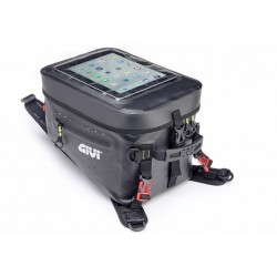 BLACK WATERPROOF TANK BAG GIVI GRT715 CAPACITY 20 LITERS