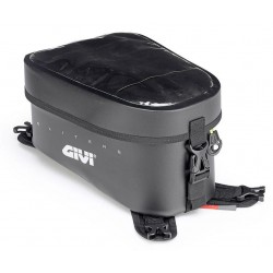 BLACK WATERPROOF TANK BAG GIVI GRT716 CAPACITY 10 LITERS